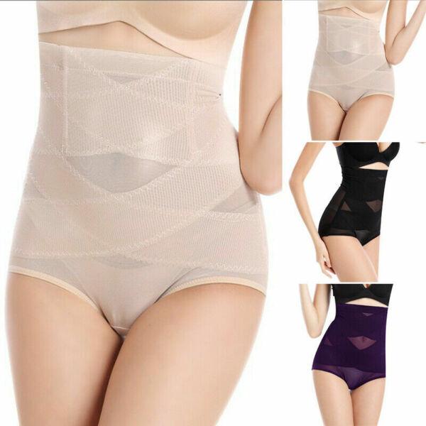Damen Bauchweg Shapewear Unterwäsche Figurformender Miederhose Body Shaper Pants