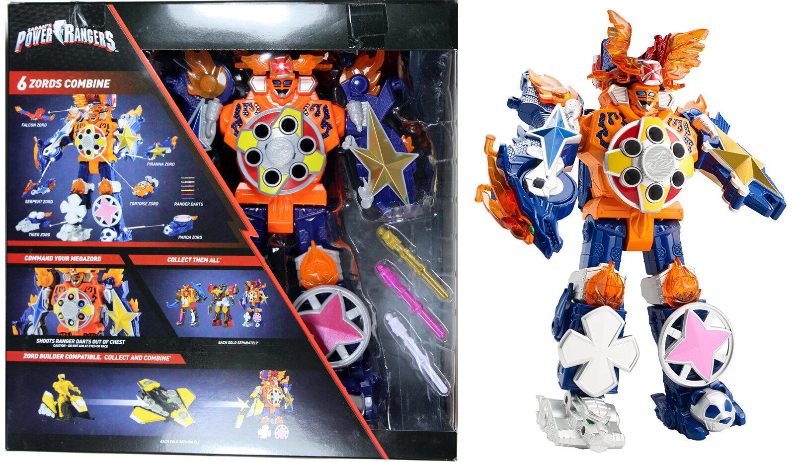 POWER RANGERS  Blaze MEGAZORD figurine  Super Ninja Steel Series