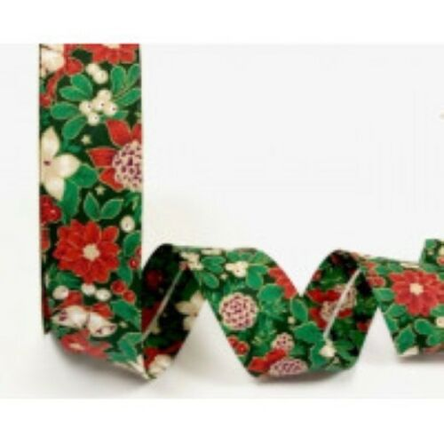 Bias Binding Christmas Festive Collection 30mm Great Quality Trimming Edging