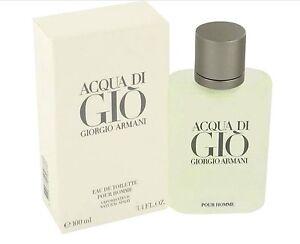 Acqua Di Gio by Giorgio Armani 100mL EDT Spray Perfume for Men COD PayPal