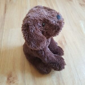 b9b0c8384e5e Tesco Brown Dog Puppy Soft Toy Plush Comforter Soother Dou 10 inches -  Horsham