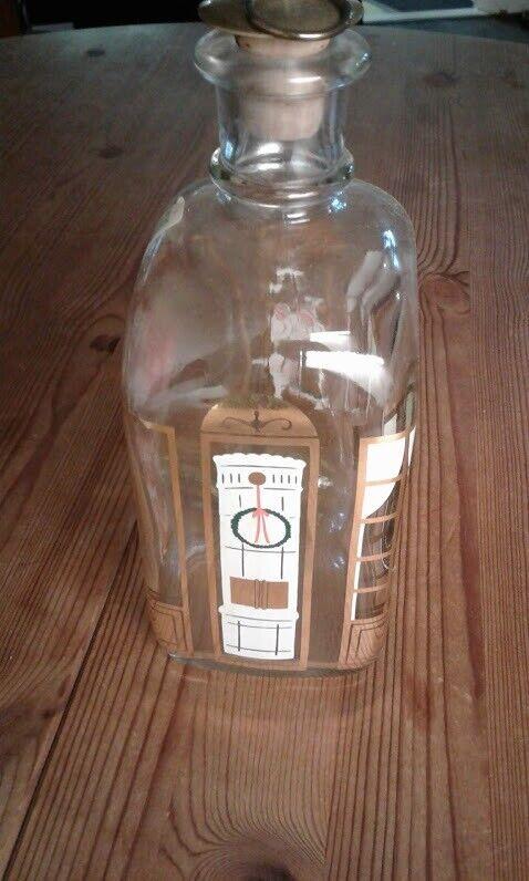 Julepynt, Dekoreret Holmegaard snapse-flaske.