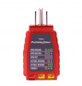 110V 120V Power Plug Socket Outlet Tester Polarity Checker Platinum ...