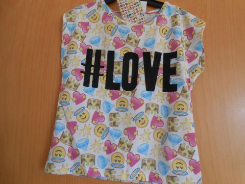 "So Cute Girls /""# Love/"" T Shirt Great Summer Item! BNWT"