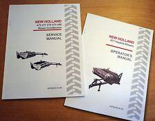 New Holland 477 Haybine Mower Conditioner Operators And Servicerepair Manual
