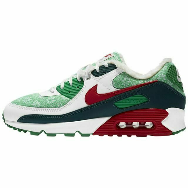 Size 9 - Nike Air Max 90 Christmas Sweater 2020 for sale online | eBay