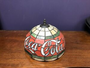 Coca Cola lamp shade replacement curved glass panels