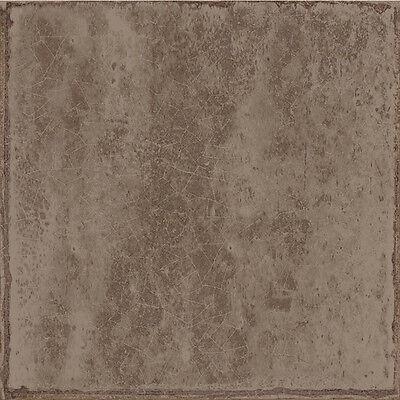 MUSTER der Retro Look Wandfliesen Glam Braun glänzend 15x15cm Dekorfliesen