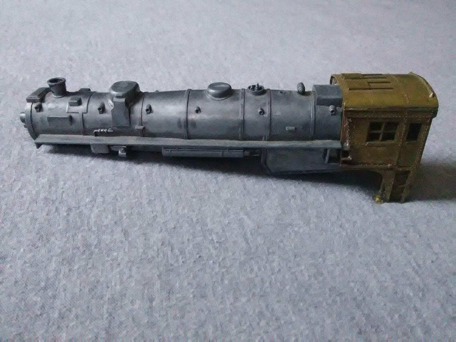 Mantua HO Scale Brass Diecast Closed Cab Steam Engine Shell  TS