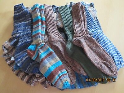 Socken,Damensocken,gestrickt,gestrickte Socken,Handarbeit,versch.Muster,Gr.40//41