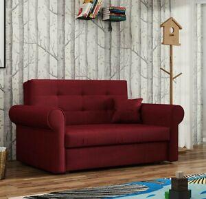 Sofa Benjamin Silver Ii Ausziehbares Schlafsofa Mit Bettkasten Wohnzimmer Couch Ebay