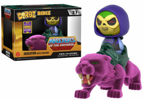 FUNKO DORBZ RIDEZ MASTERS OF THE UNIVERSE SKELETOR WITH PANTHOR SDCC 2017 EXC