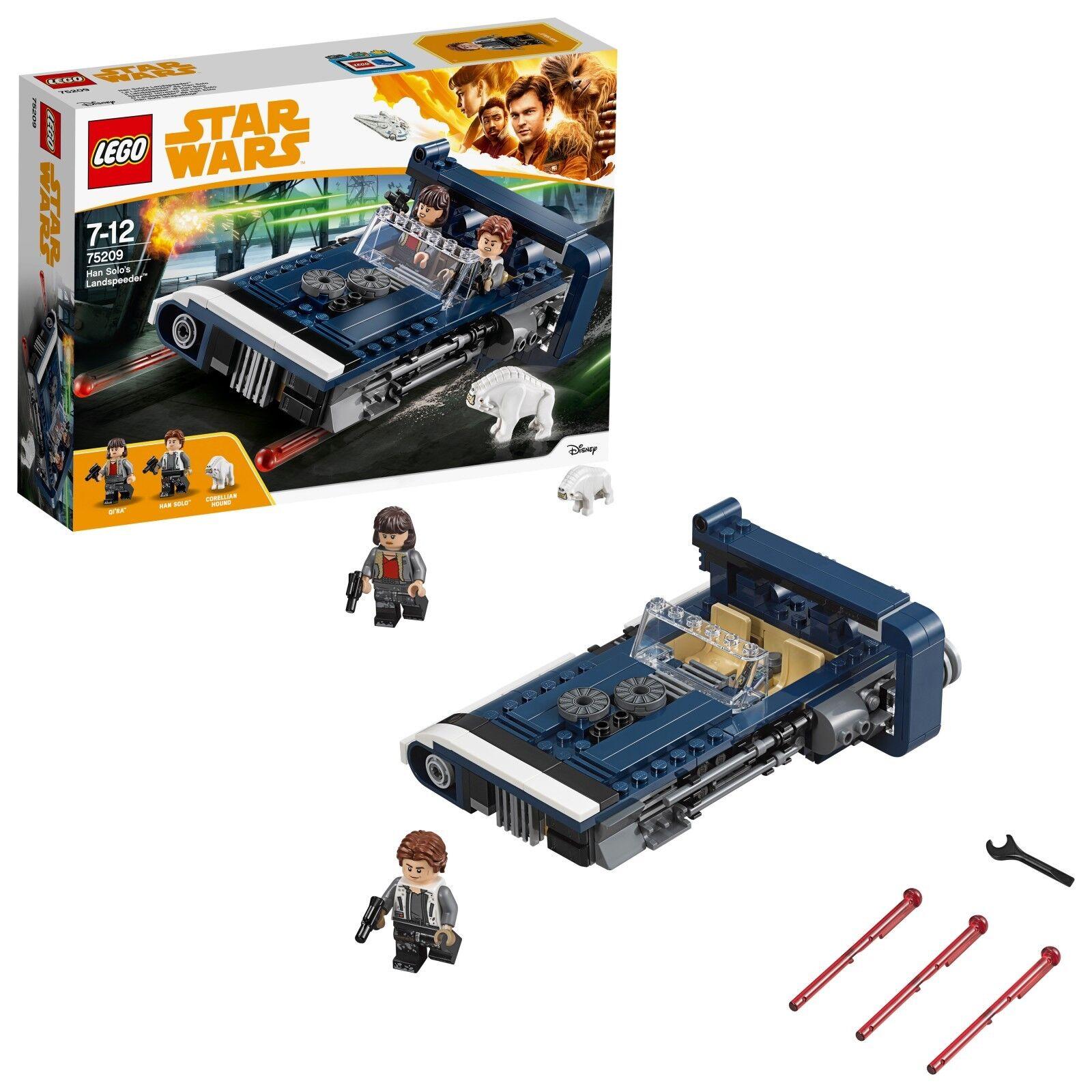 LEGO ® Star Wars ™ 75209 Han Solo's Landspeeder ™ NUOVO OVP NEW MISB NRFB