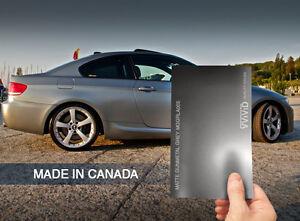 Vvivid Matte Metallic Gunmetal Grey Vinyl Car Wrap Ebay