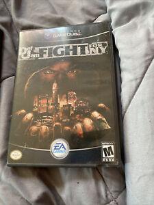 def jam fight for Ny/vendetta For Nintendo gamecube