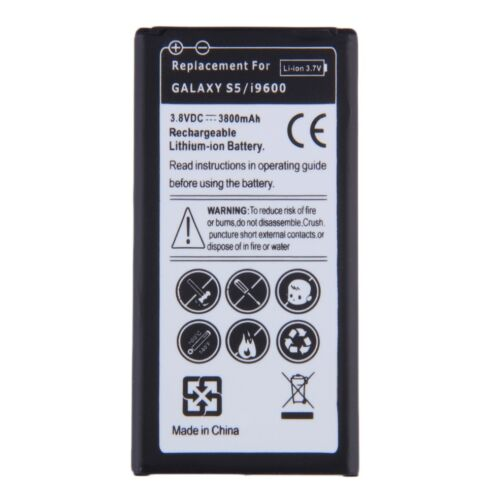Replacement Liion Battery For Samsung Galaxy S5i9600 EBBG900BBE 3800mAh GA