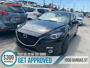2015 Mazda 3 Sport GT | LUX | NAV | LEATHER | ROOF | CAM