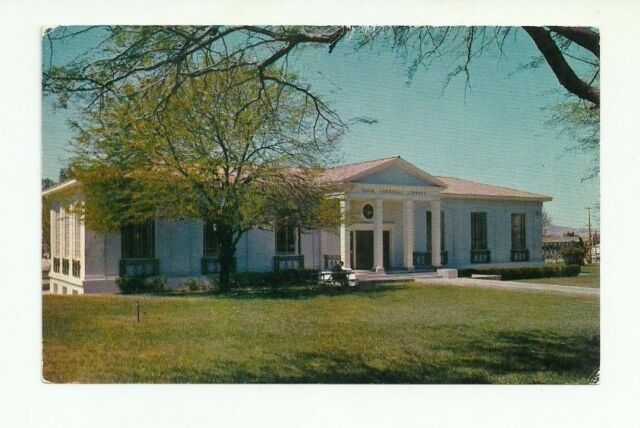 YUMA CARNEGIE LIBRARY, YUMA, ARIZONA CHROME POSTCARD