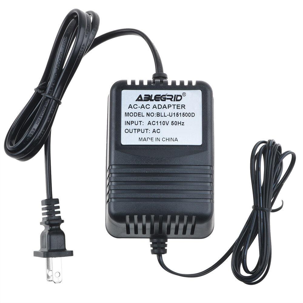 AC to AC Adapter for M.C.E. AD-1200300AU MCE 12VAC Class 2 Transformer Power PSU