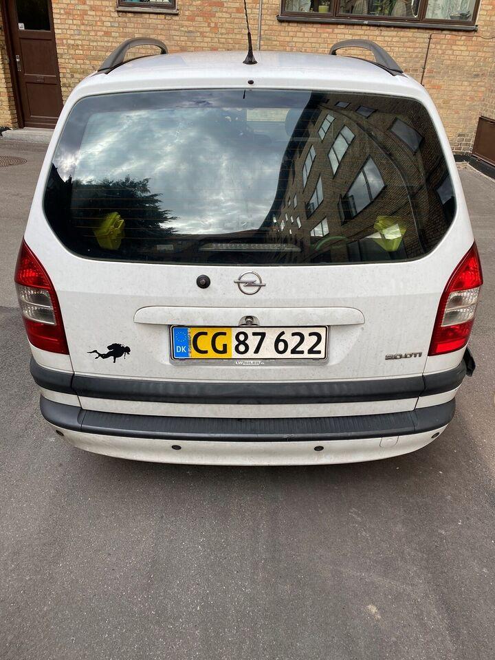 Opel Zafira, 2,0 DTi Comfort, Diesel