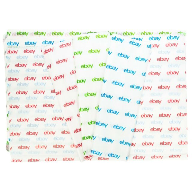"""Red, Green, and Blue eBay-Branded Tissue Paper Multi-Pack 20"""" x 30"""""""