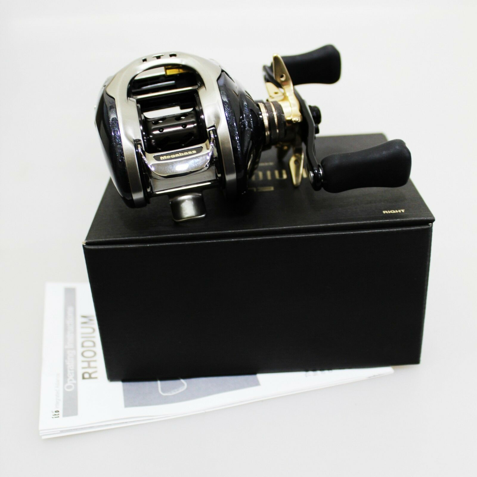 MEGABASS RHODIUM 73 Right Baitcasting Reel Fedex Priority 2days to Usa