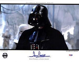 DAVE PROWSE Signed Darth Vader STAR WARS 11x14 Official Pix Photo PSA/DNA V50129