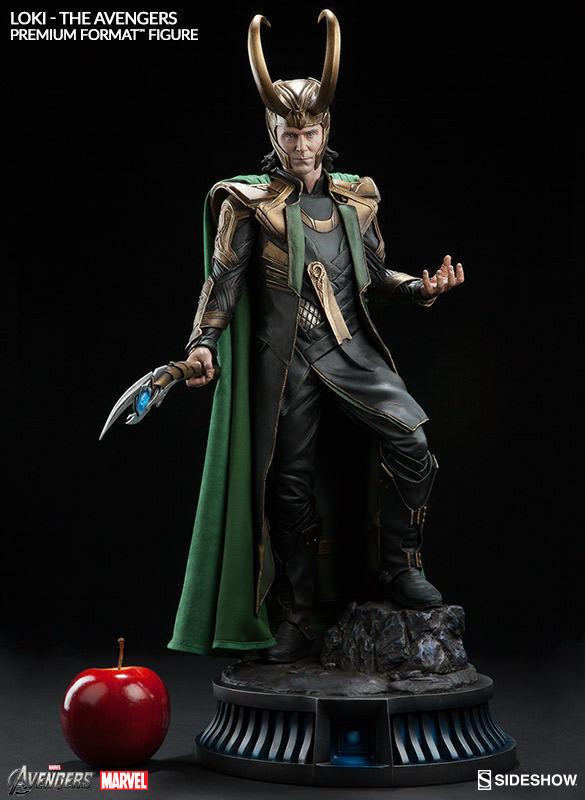 14 Sideshow Avengers Thor Loki Premium Format PF Figure