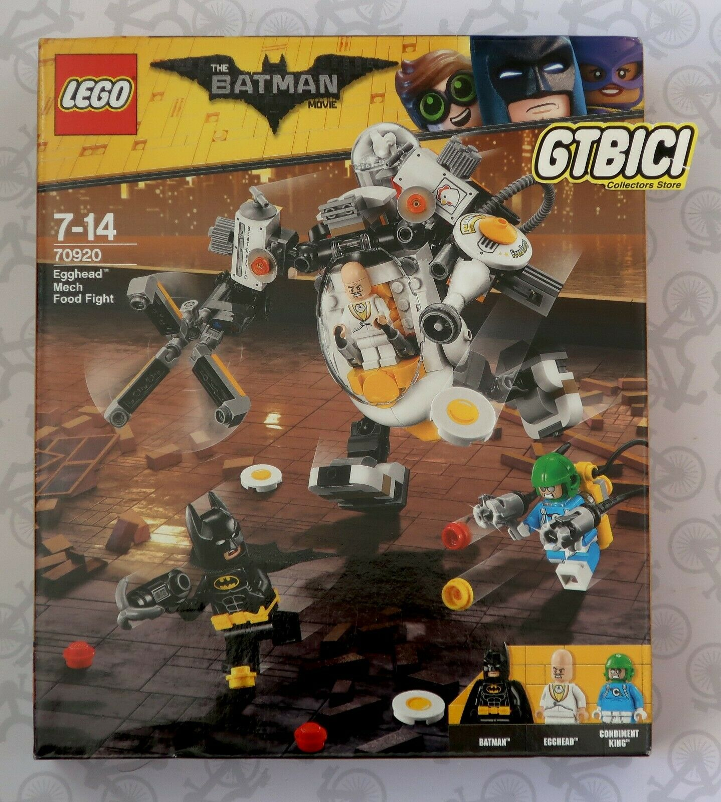 Lego Egghead ´´ Ref 70920 The Mech Movie Fight Food Nuevo Batman `` FTJlcK1