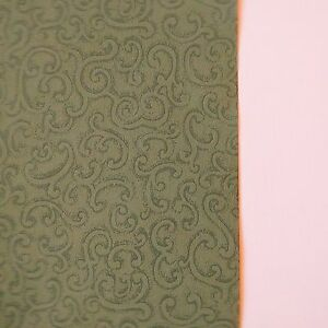 Vintage-Wallpaper-Green-Filigree-Scroll-by-Clarence-House