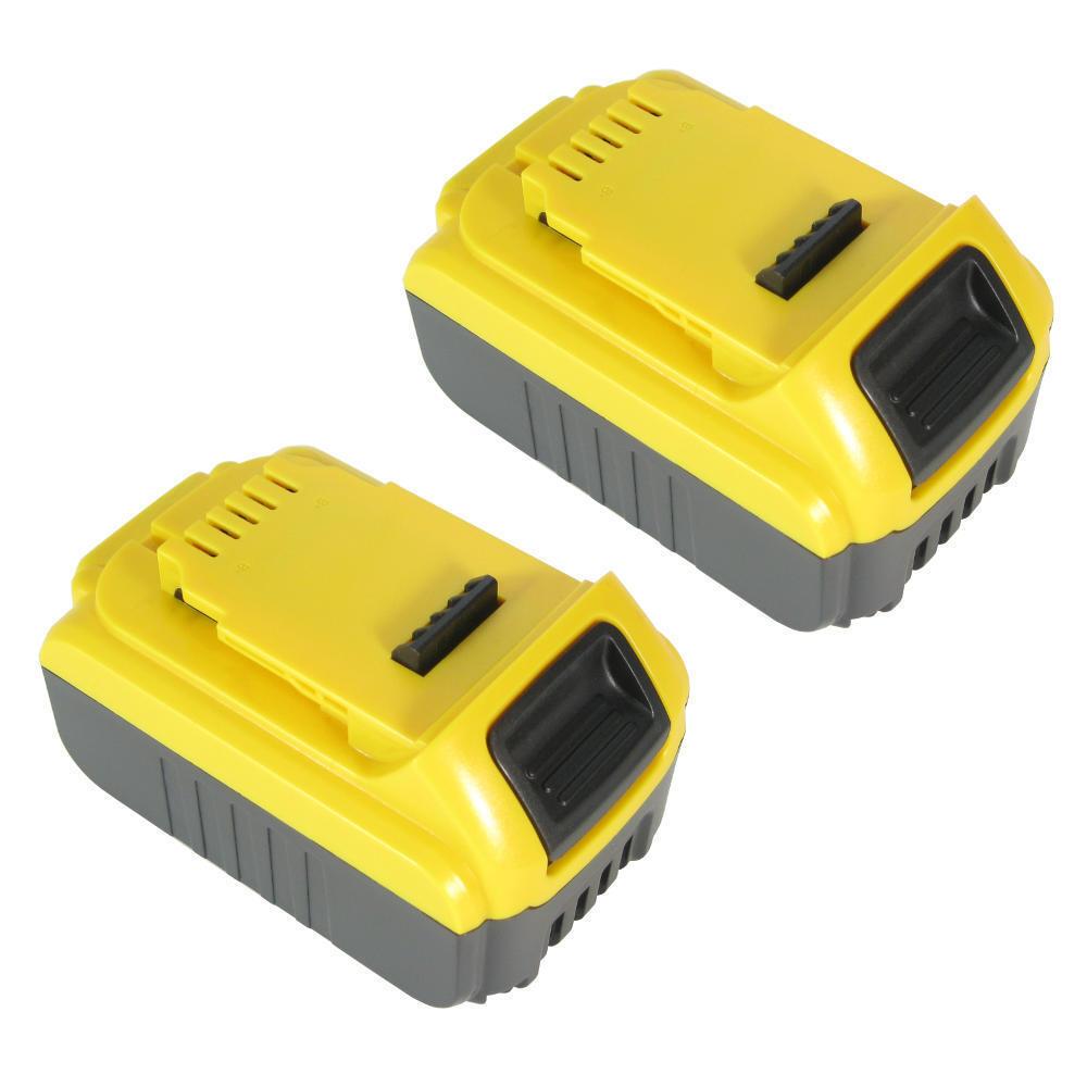 2x Li-Ion AKKU 4000mAh 18V für Dewalt DCD740B DCD985B DCF885L2 DCG412 DCS355