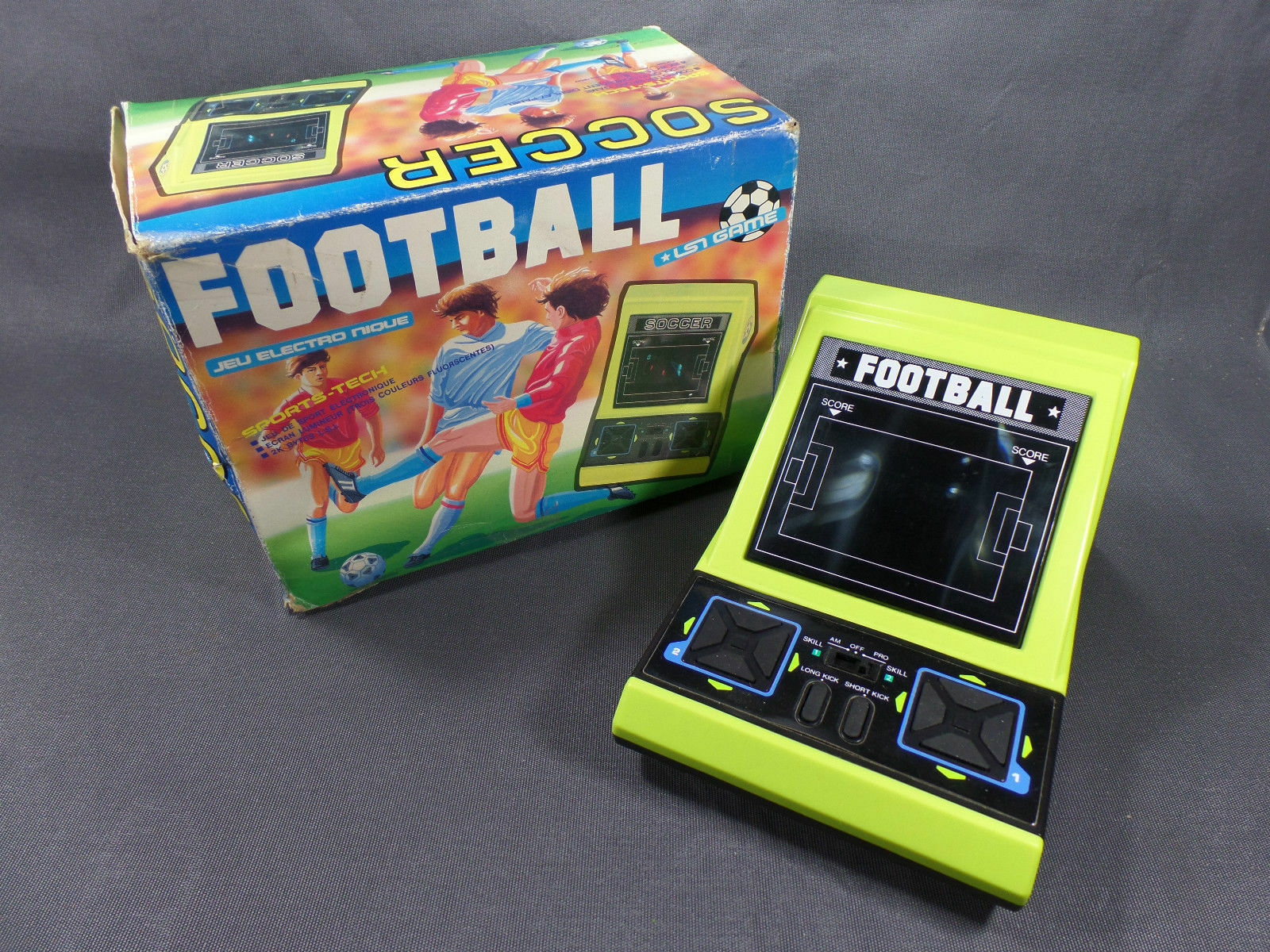 Soccer football mint condition styrofoam box shims