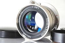 [EXCELLENT--]Voigtlander Heliar 50mm f/2 10th Anniversary Nickel Edition Leica
