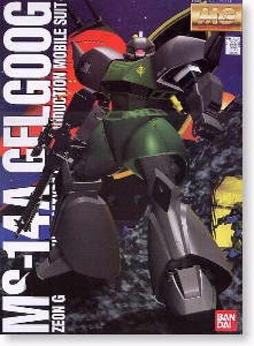 Bandai MG 1 100 Ms-14a Gelgoog Produzione Modello Plastica Kit Gundam Giappone