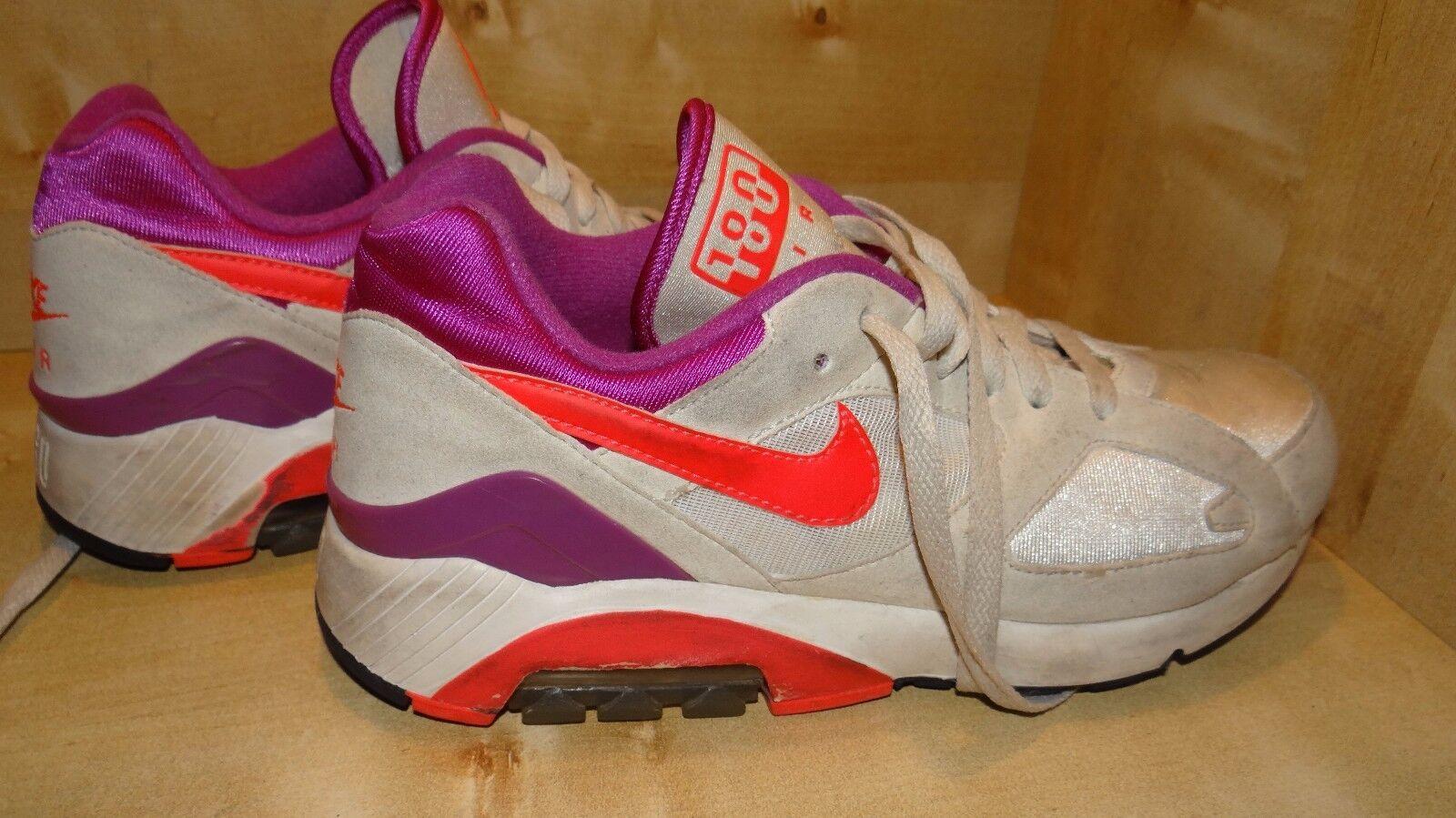 Nike Nike Nike Air 180 Sportschuhe gr.40 Orange Rosa lila  9afb20