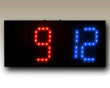 Portable Remote Controlled Scoreboard (Red/Blue)