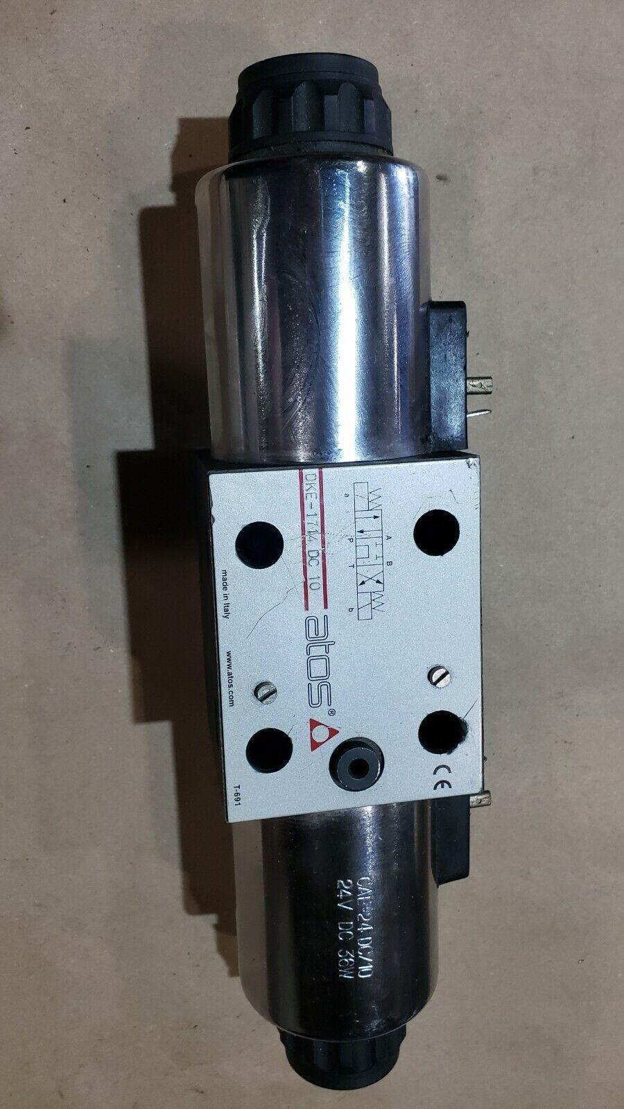 Dhe-0713-00 dc atos imán-caminos-válvula ng06 directional Valve