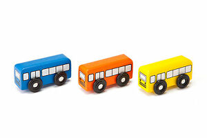 Details About Bus Set Compatible With Brio Thomas Wooden Train Set Accessories