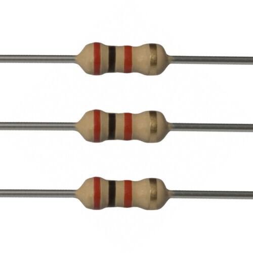2K 5/% 1//2 Watt 10 x 2k Ohm Carbon Film Resistors Fast USA Shipping