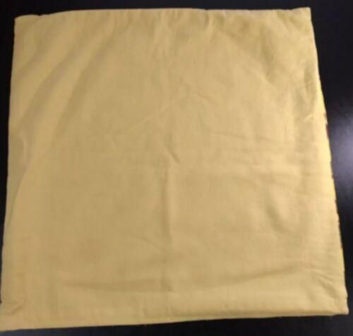 Waverly Olana Bayleaf Handmade Exotic Bird Yellow Throw Pillow Cover Sham Case