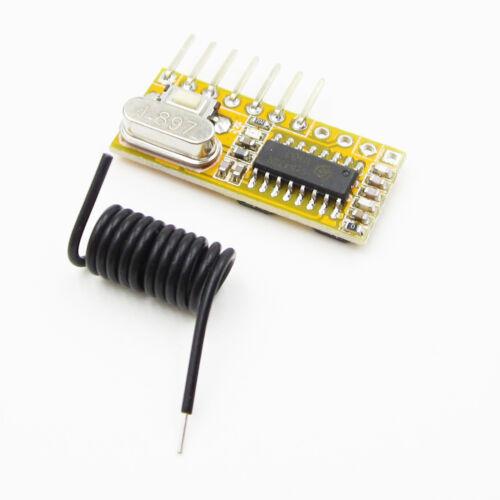 RXC6 315MHZ Wireless Receiver Superheterodyne PT2262 Code Steady für Arduino