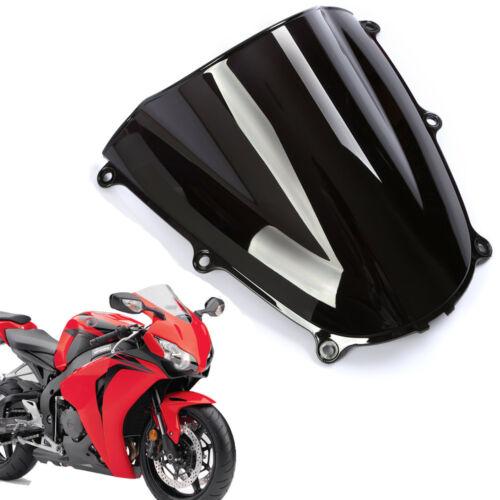 Smoke Black Double Bubble Windscreen Windshield ABS for Honda CBR600RR 2005-2006