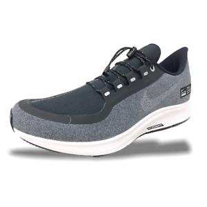 Nike Air Zoom Pegasus 35 Shield New Men/'s Running Shoes Black Silver AA1643-004