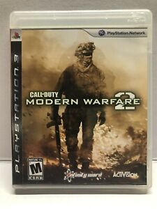 Call of Duty: Modern Warfare 2 PlayStation 3 PS3 - Complete w/ Manual - Tested
