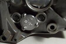 Yamaha RZ350 billet aluminum shift drum end plate RZ 250 350 silver anodizd