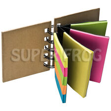 Sticky Memo Note Pad Index Tabs Desktop Organizer Bookmarks Notepad Post Pads
