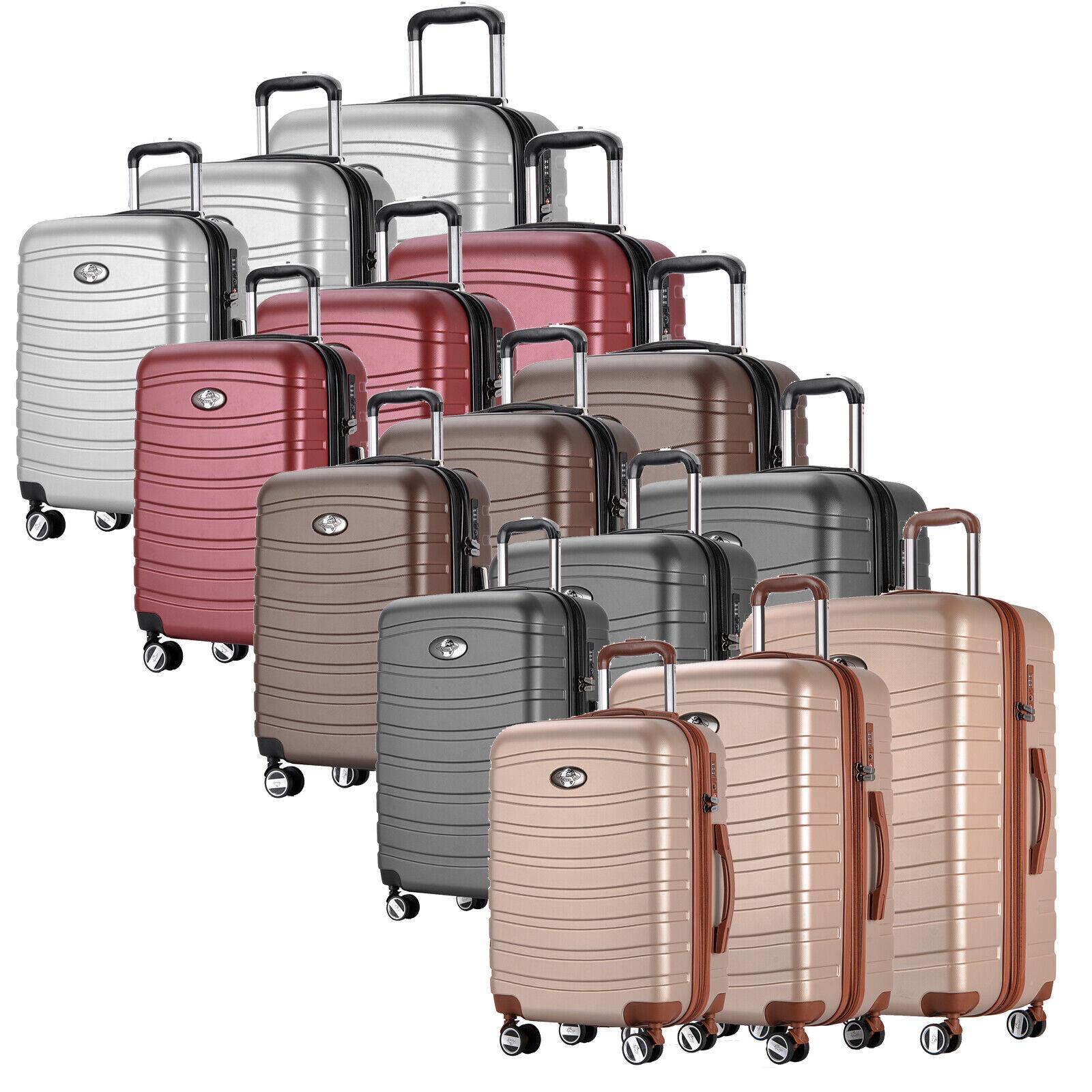 Tuta da Viaggio Valigia Custodia Set 3 PZ Trolley 360 ° valigia set bagagli Set