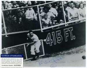 Al-Gionfriddo-PSA-DNA-Coa-Autograph-Hand-Signed-8X10-Dodgers-Catch-Photo