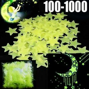 Glow-in-the-dark-stars-multi-pack-autocollants-muraux-enfants-chambre-nursery-plafond-fun