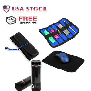 Portable-Travel-Multifunction-2-in-1-Mouse-Pad-Case-Combo-Storage-Organizer-Case